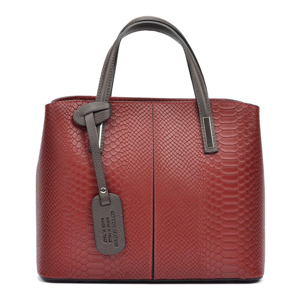 Červená dámska kabelka Roberta M Viviana