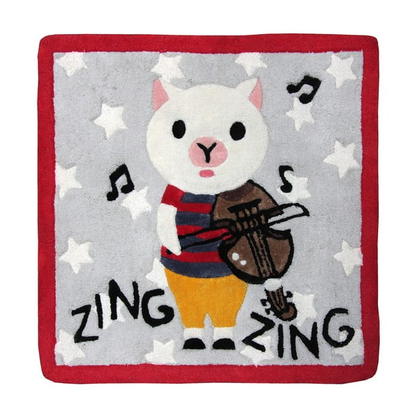 Detský koberec Nattiot Zinz Zing,70x70cm