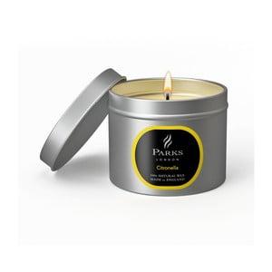 Sviečka s vôňou citrusov Parks Candles London Citronella, 25 hodín horenia