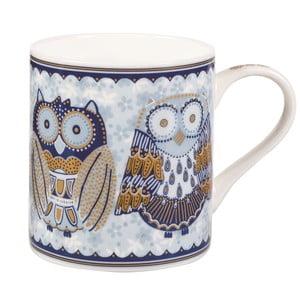 Hrnček Blue Story Night Owls, 340 ml