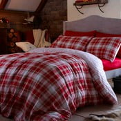 Obliečky Tartan Red, 135x200 cm