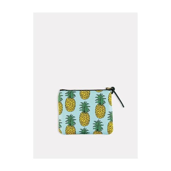 Listová kabelka/kozmetická taštička Pineapple S
