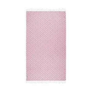Ružová hammam osuška Kate Louise Bonita, 165x100cm