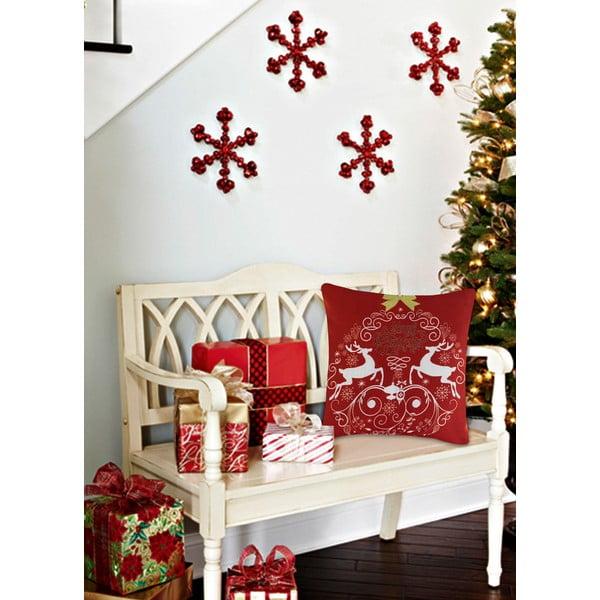 Vankúš s výplňou Christmas V15, 45 x 45 cm