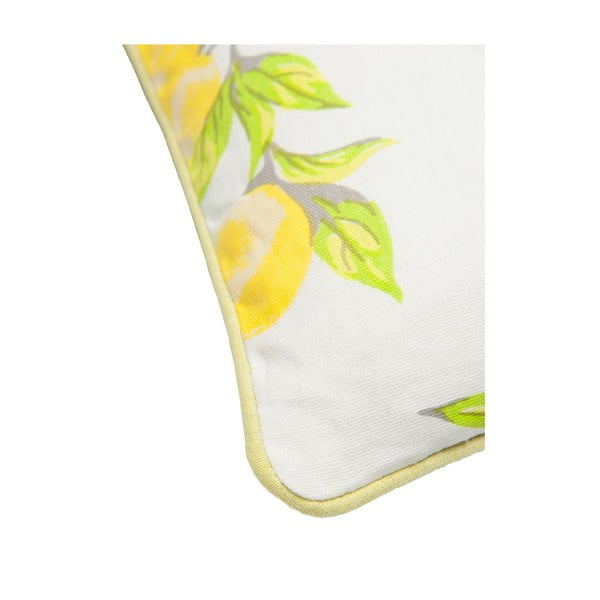 Vankúš Lemon, 40x40 cm