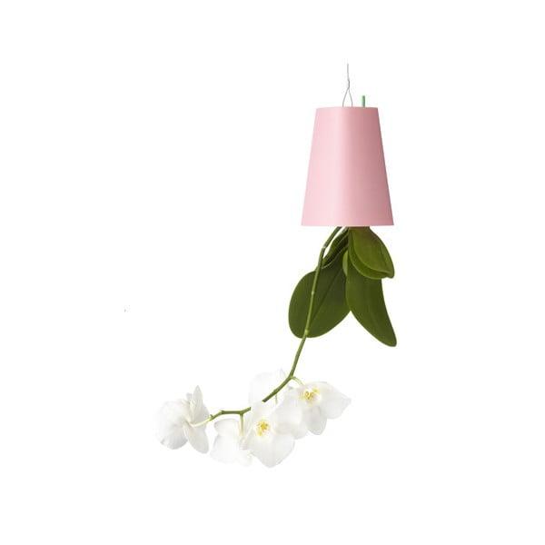 Outdoor lietajúci kvetináč Sky Planter, malý ružový
