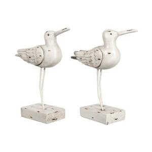 Sada 2 dekoratívnych sošiek Seagull