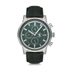 Pánske hodinky s koženým remienkom Santa Barbara Polo & Racquet Club Trick