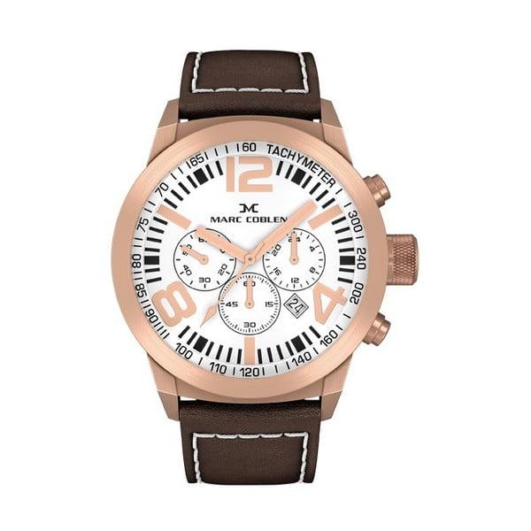 Pánske hodinky Marc Coblen s remienkom a krúžkom na ciferník naviac P40