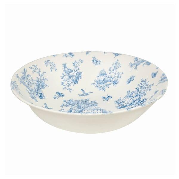 Hlboký tanier Toile Blue de Jardin, 20 cm