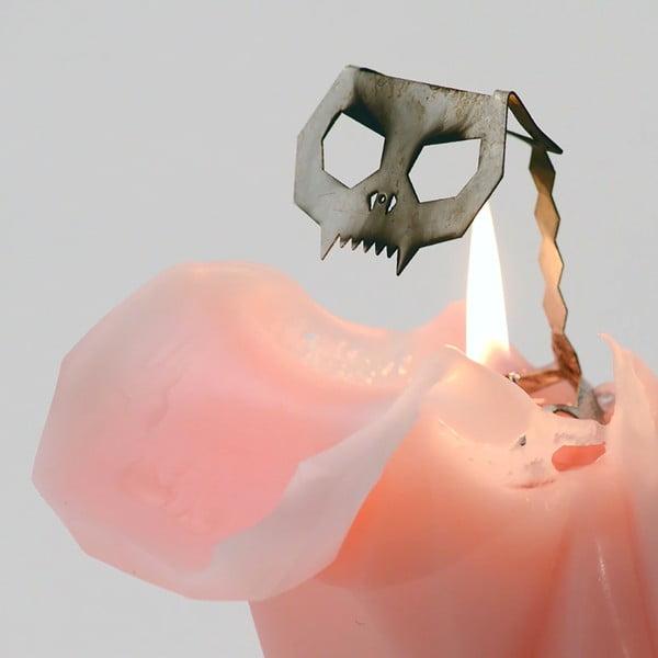 Sviečka Pyropet Kisa Pink