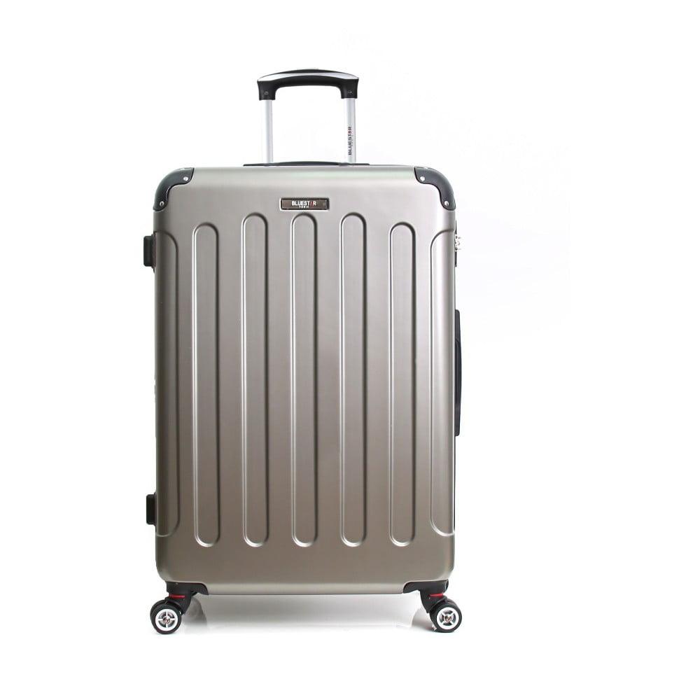 Béžový cestovný kufor na kolieskach Bluestar Mirgo, 70 l