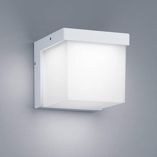 Záhradné nástenné svetlo Yangtze White, 12 cm