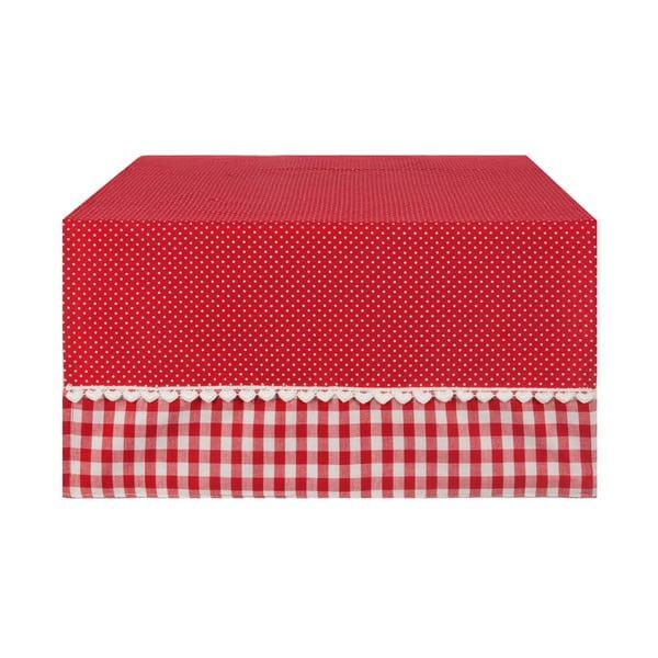 Behúň Basic Hearts  50x140 cm, červený