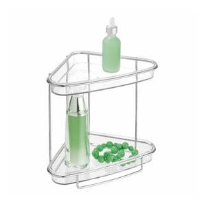 Rohový dvojposchodový stojan iDesign Vanity