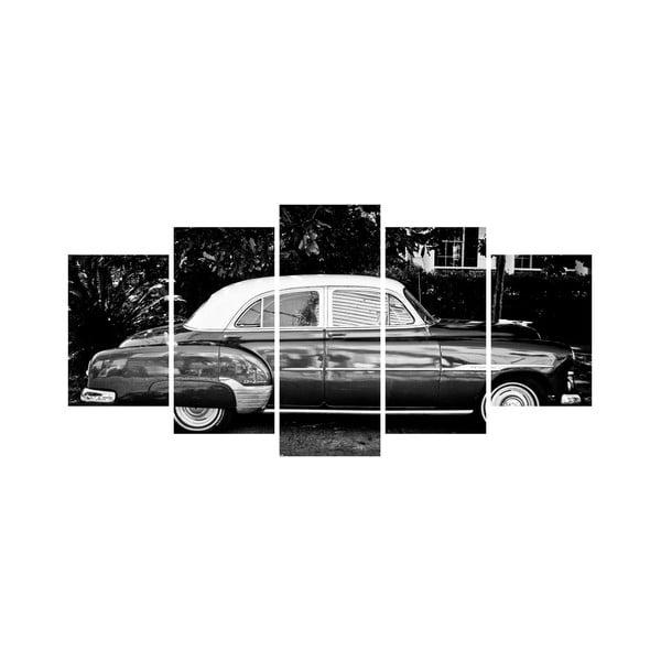 Viacdielny obraz Black&White no. 35, 100x50 cm