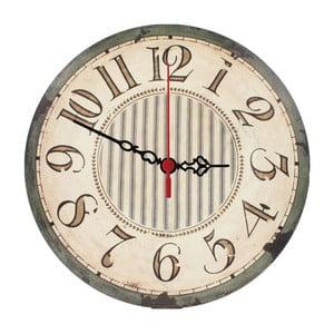 Nástenné hodiny Stripes, 30 cm