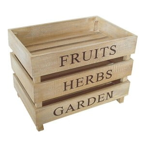 Sada 3 prepraviek Fruits, Herbs, Garden