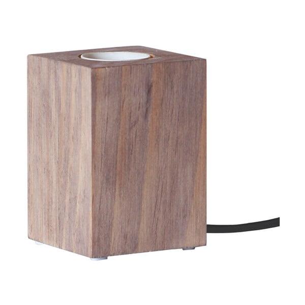 Hnedá drevená lampa Best Season Lys