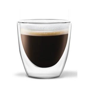 Sada 2 dvojitých hrnčekov Vialli Design Ronny Espresso, 80ml