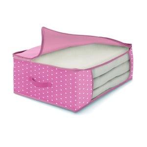 Ružový úložný box na periny Cosatto Pinky, 45 x 45 cm