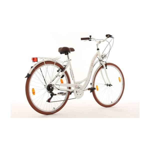 """Bicykel Eden Bike White, 28"""", výška rámu 48 cm"""
