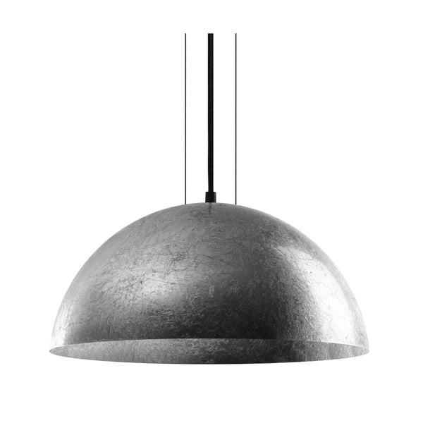Stropná lampa Cuatro, čierna/strieborná, veľkosť L