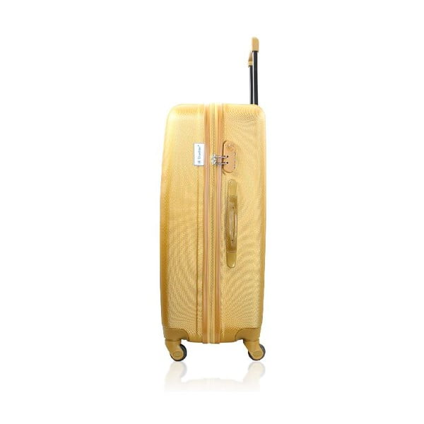 Set 3 cestovných kufrov Golden Stripes