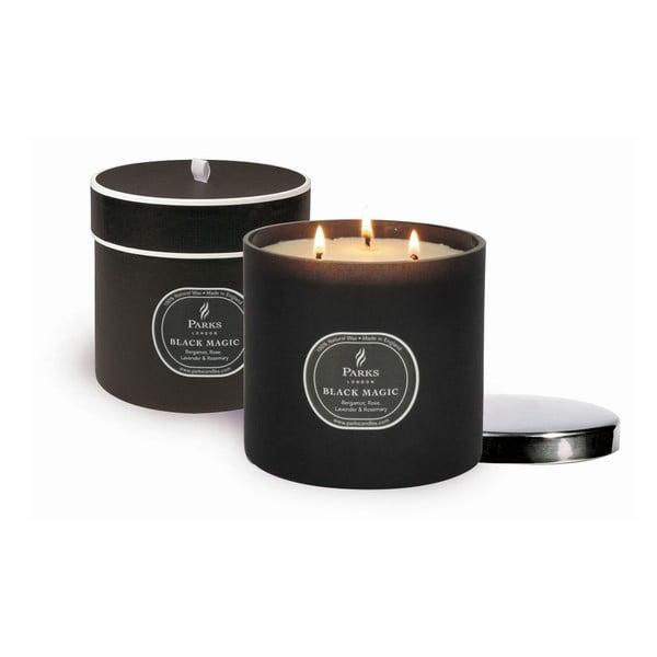 Sviečka Magic Candles, 80 hodín horenia, vôňa bergamotu a ruže