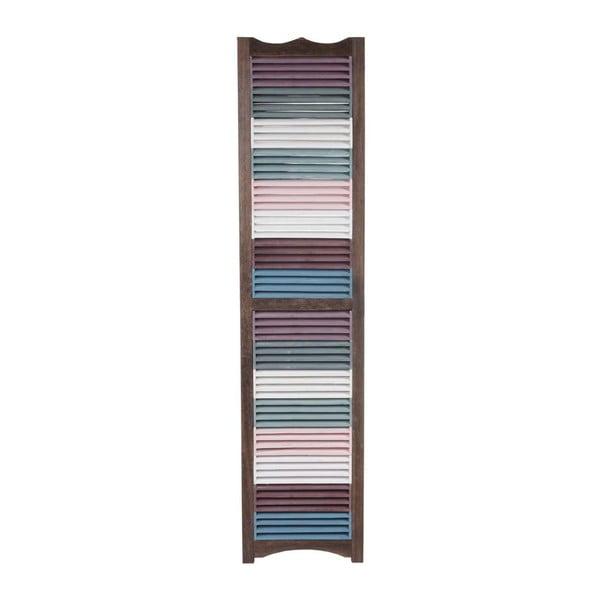 Paraván Patchwork Brown, 161x170 cm
