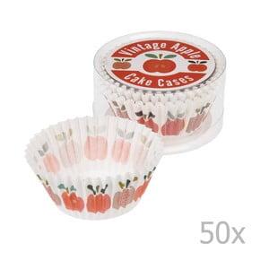 Sada 50 košíčkov na muffiny Rex London Vintage Apple