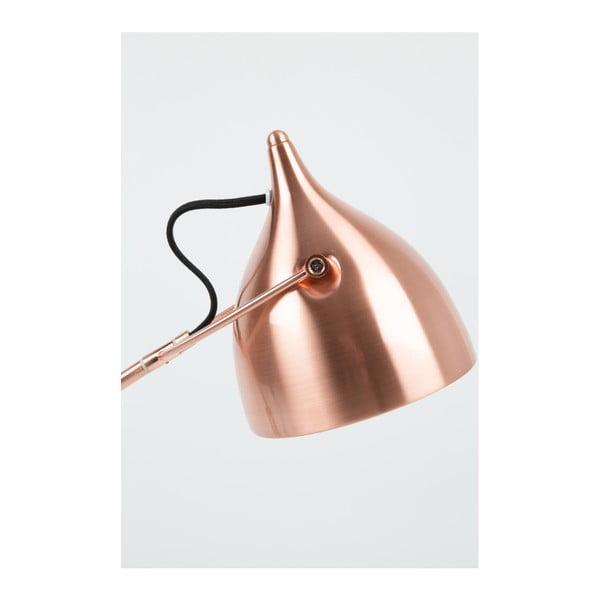 Stojacia lampa v medenej farbe Zuiver Reader