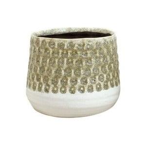 Pieskovohnedý kvetináč z keramiky Strömshaga Anten, Ø18,5 cm
