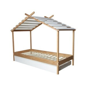 Detská posteľ Marckeric Caban, 90 x 190 cm