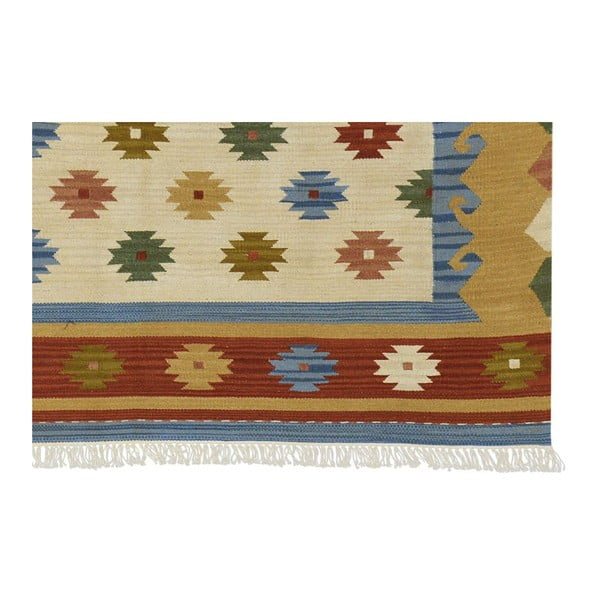 Ručne tkaný koberec Kilim Classic K15 Mix, 155x215 cm