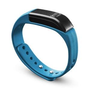 Bluetooth fitness náramok CellularLine EASYFIT, modročierny