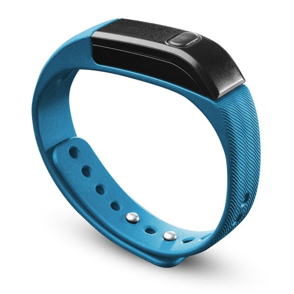 Bluetooth fitness náramok CellularLine EASYFIT, modročierny
