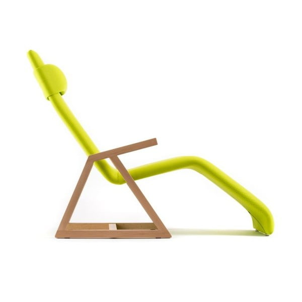 Polohovacie lehátko Easy Recliner Beech/Lime Punch