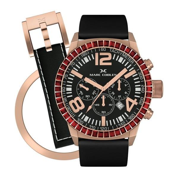 Dámske hodinky Marc Coblen s remienkom a krúžkom na ciferník naviac P83
