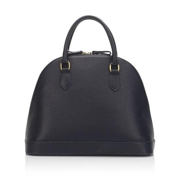 Kožená kabelka Markese 5010 Dark Blue