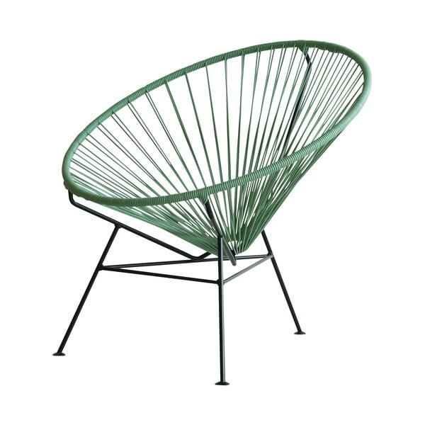 Kreslo Condesa, zelené, dĺžka 78 cm