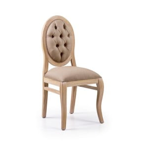 Jedálenská stolička z dreva Mindi Moycor Bromo, 45 × 54 × 105 cm