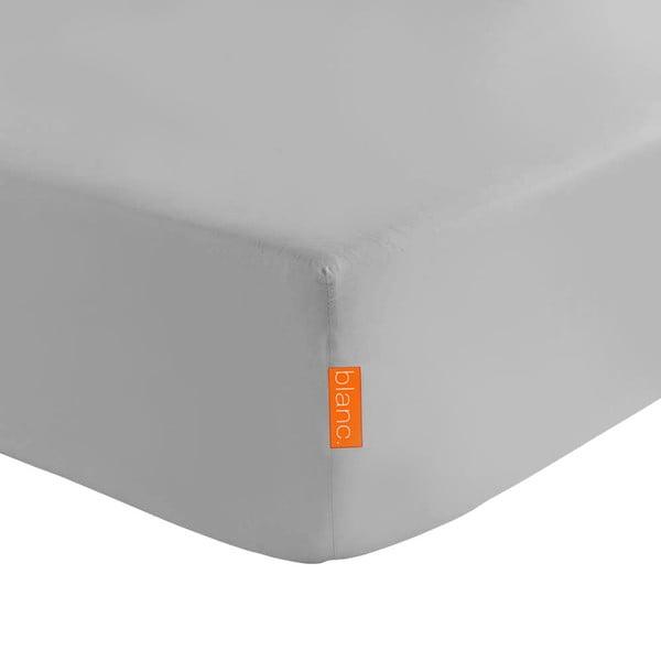 Sivá elastická plachta HF Living Basic, 90×200cm