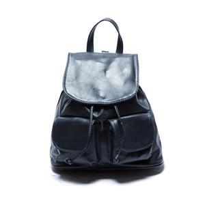 Modrý kožený batoh Sofia Cardoni Valerio
