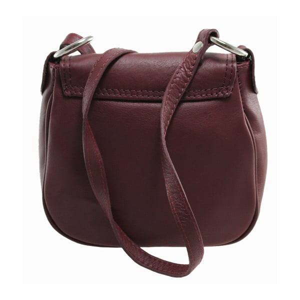Hnedá kožená kabelka Blanch