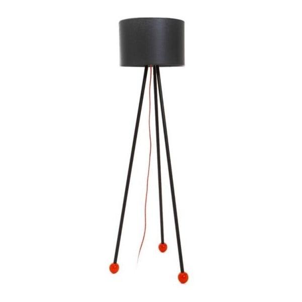 Stojacia lampa Morello Black/Black