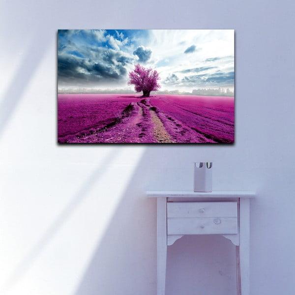 Obraz Levanduľové pole, 45x70 cm