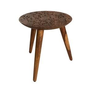 Drevený stolík Dutchbone Hand