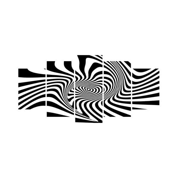 Viacdielny obraz Black&White no. 56, 100x50 cm