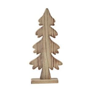 Dekoratívna soška KJCollection Tree Natural Wood 25 cm